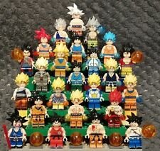 Extra lot spécial SON GOKU, 24 figurines neuves, Dragon Ball, au format lego !!