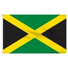 3x5 Jamaica Jamaican Flag 3'x5' House Banner Polyester Grommets Fade Resistant