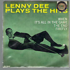 WHEN, IT'S ALL IN THE GAME - THE END, FIREFLY # LENNY DEE