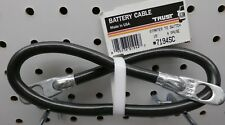 """7194SC 19"""" #4 Copper Black Starter To Switch Battery Cable, Free US Ship ~"""