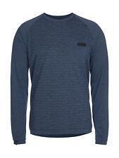 ION Tee LS Roam Bike Jersey, Men, insignia blue melange - S / 48