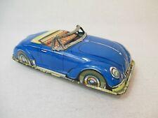 Blechspielzeug Modellauto 60er Jahre VW Käfer Cabrio