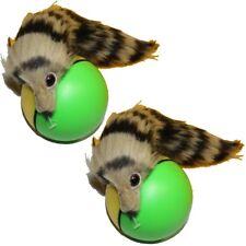 2x Wieselball Wiesel Ball Weazelball Hundespielzeug Katzenspielzeug Spielzeug