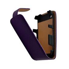 Housse coque étui gaufré pour BlackBerry Curve 8520 couleur violet