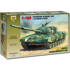 ZVEZDA 3551 RUSSIAN MAIN BATTLE TANK t-72b 1:35 MEZZI MILITARI KIT MODELLO