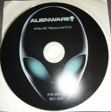 OFFICIAL DELL ALIENWARE M14X R2  RESOURCE  DVD  !!!