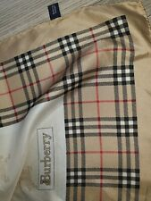 Authentic Burberry Large scarf 100% Silk