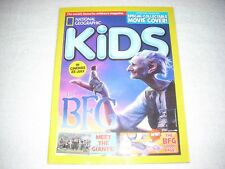 National Geographic Kids Magazine Issue 128 August 2016 Animal Athletes BFG