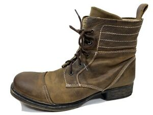 Bed Stu Leather Lace Up Chukka Boots Mens 13