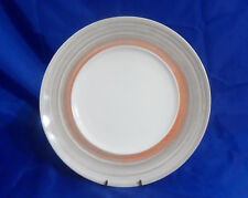 "Villeroy & Boch Amarah 11-1/4"" FLAT DINNER PLATE Taupe Porcelain w/ 7"" Well"