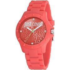 Orologio Donna JUST CAVALLI JUYCE R7253599503 Silicone Rosso Swarovski JC Lady