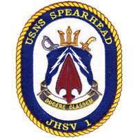 USNS Spearhead JHSV-1 Joint High Speed Vessel Patch