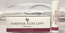 6 New Forever Living Aloe Lips Balm with Jojoba Oil Soothe, Moisturize heal