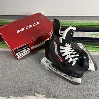CCM Jetspeed 250 YT JR Hockey Skates Size 10J US Shoe 11.5 Missing Laces
