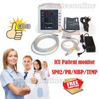 Moniteur de signes vitaux Unité de soins intensifs Moniteur du patient PNI SPO2