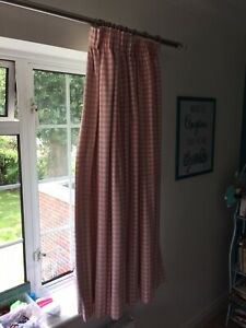 Laura Ashley Girls Black Out Curtains & The Little White Company Shades