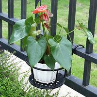 Wall Hanging Storage Garden Basket Flower Plant Pots Shelf Holder Multiuse NEW