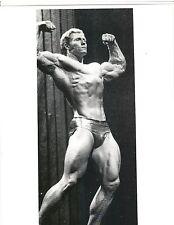 bodybuilder KEN WALLER Bodybuilding Muscle Photo B&W