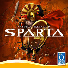 Sparta, a Boardgame by Y. Holtkamp - Queen Games - English, New