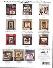 COCA COLA Hamilton King Calendar Girls #1 Coke Cross Stitch Pattern