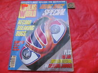 VOLKS WORLD VW MAGAZINE November 1997 DRAG RACE SPECIAL-BUG JAM-TURBO TYPE 3-CUP