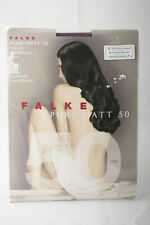 Falke ~ PURE MATT 50 ~ semi opaque tights BNWT ~ Medium Purple