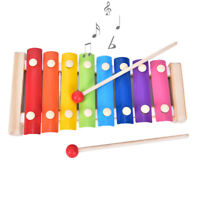 Wooden Music Instrument Montessori Children Educational Early Wooden Xylophone U