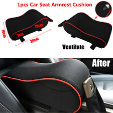 1PCS Knitted Fabrics Car Memory Foam Center Console Seat Armrest Protector Pad