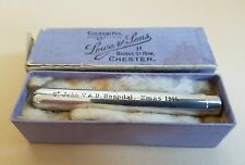 Sampson Mordan 1916 Silver Pencil Queen Mary Gift Chester Duchess Teck