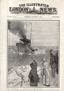 1917 London News December 29 - Haunted Gallery; Kite-balloons spot subs; Gotha
