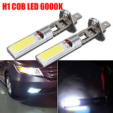 2x New H1 COB LED Auto Fog Light Headlight DRL Daytime Running Light Bulb White