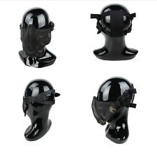 Pour Paintball TMC Tactical Multicam NOIR PDW Soft Side nouvelle version Mesh Mask