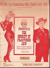 If the San Francisco Hills Could Talk Jayne Mansfield Sheriff of Fractured Jaw
