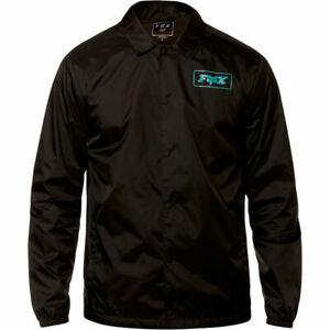 Fox Mx Racing Mens Adult Lad Jacket Colour Black Blue Mtb BMX Size Large was£60