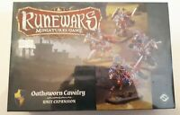 RUNEWARS: Oathsworn Cavalry (Fantasy Flight expansion,sealed and unplayed)