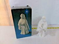 Vtg Avon White Nativity Collectibles Figure ~ The Magi Balthasar ~ w/ Box 1982