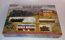 Bachmann Rail Boss Train Set HO scale 0-6-0 Steam Locomotive #00687