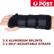 Wrist Splint Brace Protection Support Strap Carpel Tunnel CTS RSI Pain Relief H
