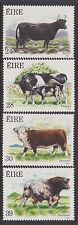 IRELAND, Scott #691-694, MNH, 1987 Cattle - Complete