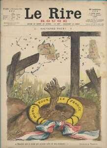 Journal Le RIRE Rouge, édition de guerre N° 103 du 4 novembre 1916