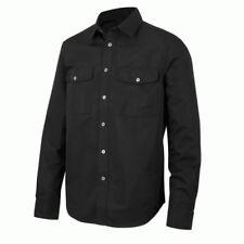 Camisas y polos de hombre negras de poliéster talla L