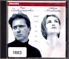 Viktoria MULLOVA & Piotr ANDERSZEWSKI: BRAHMS Violin Sonata No.1 2 3 CD PHILIPS