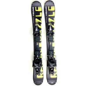 Head Razzle Dazzle 94cm Skiboards Skiblades Snowblades with Tyrolia Ski Bindings