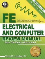 FE Electrical and Computer Review Manual by Michael R. Lindeburg (2015,...