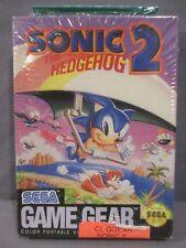 Sega Game Gear SONIC THE HEDGEHOG 2 *NEW* 1992