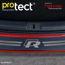 VW Golf MK7 Estate R Line Bumper Protector (2012+) Black Carbon Vinyl Protector