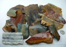 Assorted Slabs 1 lb. 11oz. Natural Lapidary Rough