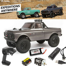 Axial AXI00001T2 1/24 SCX24 1967 Chevrolet C10 4WD Truck Brushed RTR Silver