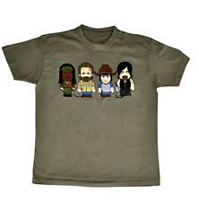 Toonstar Cartoon T-Shirt Apocalypse - Verde militare | small