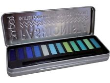 Technic Fashionista Mermaid Colour Green/Blue Glitter Eye Shadow Palette BNIB